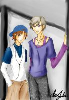 Silver Pair - 2nd Generation by Denisis