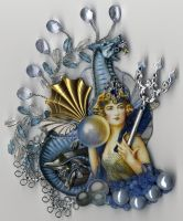 Mermaid Queen by ArtfullyMusing