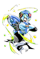 Blue Bomber by ComiPa