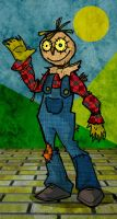 Sketchy Scarecrow of Oz by memorypalace