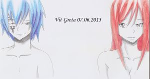 Request: Jellal and Erza by Jelly9614