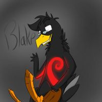 Commission: Blake by LaughingZoroark