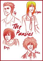The Pansies by french-teapot