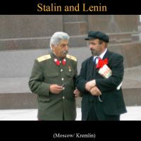 Stalin and Lenin by OrangeRoom