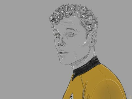 Chekov by SaraMFDraws