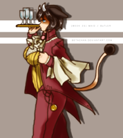 PP: Weekly challenge BUTLER by Betachan