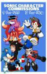Sonic Character Commissions by ChaosWhite180