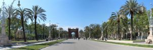 Arc de Triomf - Panorama by nemecle