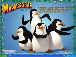 Penguins from Madagascar by asagiri