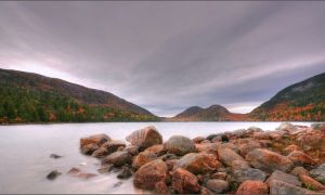 Jordan Pond by DennisChunga