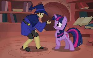 Please, Twilight... you're my only hope. by Celesi