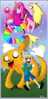 Adventure Time. by cam070