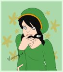 Toph and Tuxedo's Mask by Rose-Rayne