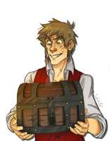 APH - Pirate Chest by SarcasticBrit