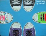 tips of our toes by handmadebyhannah