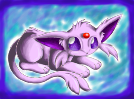 Another Espeon by Kyrara