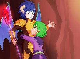 Hug? (Pic of the week S6E05) by JonFawkes