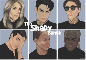 The Shady Bunch by Killer-Instincts