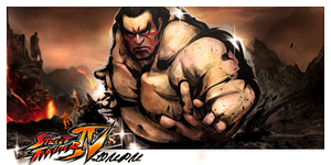 Street Fighter 4 Signature 4 by Loupu