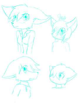 Style concept Sketches by Summer-Melody-Heart