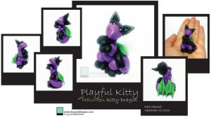 Judith - Playful Kitty Halloween by lizzarddesigns