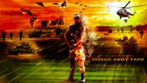 Indian Army Cover ART by Ankash