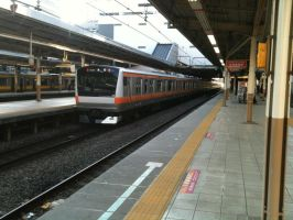 JR East E233-0, Mitaka by ToniBabelony