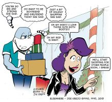EW Holiday Shopping With Jen. by Joe5art