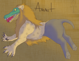 Ammit, the Heart Eater by Rainbowbesa