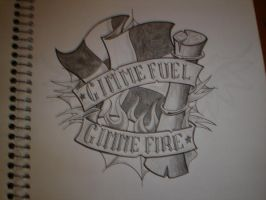 Gimme Fuel Gimme Fire by Freddyferd