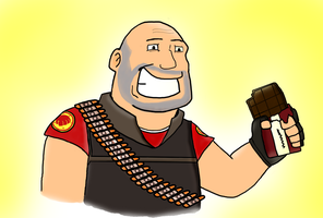 Heavy has Chocolate by SuperBomb-Omb