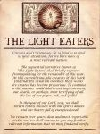 The Light Eaters, Announcement and Update by Rosengeist