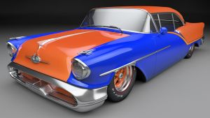 1957 Oldsmobile 88 Coupe by SamCurry