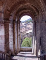 Through the arched window by SilverMixx