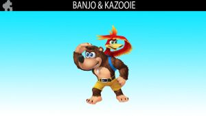 SSB DLC Idea: Banjo and Kazooie by MrYoshi1996