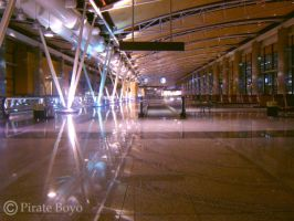 Inside Barajas Airport by PirateBoyo