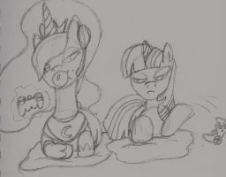 Just Stop Trying Twi (Sketch) by Xenstroke