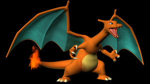 Charizard Model Posed by Chibi-Pika