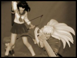 Inuyasha and Kagome-Old Photo by TheBothan