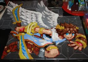 Perler Pit WIP 2 by Foxilery