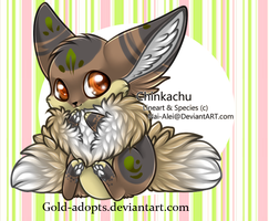 Chinkachu adopt on hold by gold-adopts