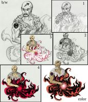 from sketch to color image by aethernova
