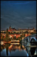Prague Castle I by amrodel