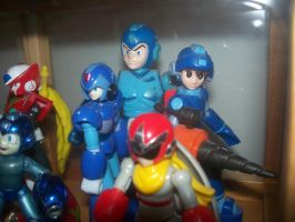 MegaMan Model Collection 3 by Gileum