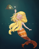 Mermaid by ninyanernel