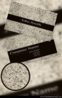 Sand Business Card by Freshbusinesscards