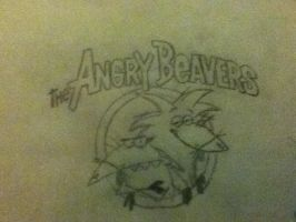 Angry Beavers by BagOfAwsome33