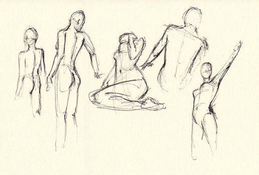 30 seconds sketches... by Norke