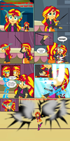 goodbye Sunset Shimmer by Deidrax