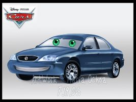 Cars Style Mercury Sable by agra19